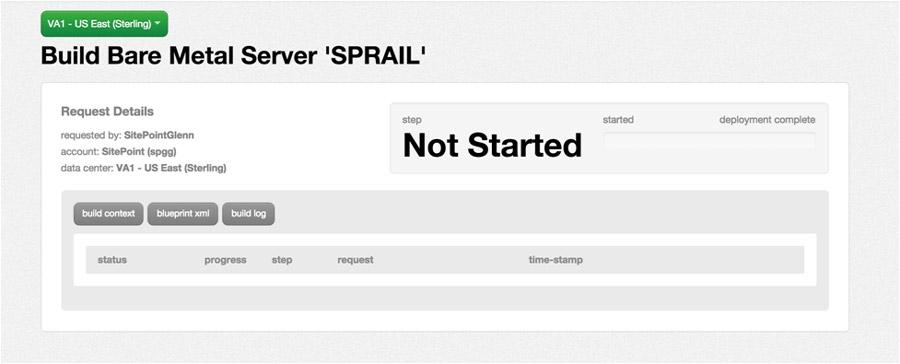 CenturyLink server request details