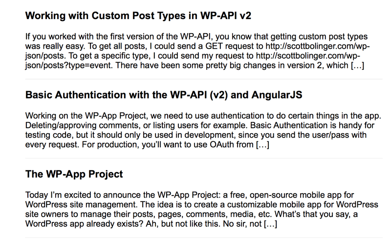 Working With Custom Post Types WP API v2