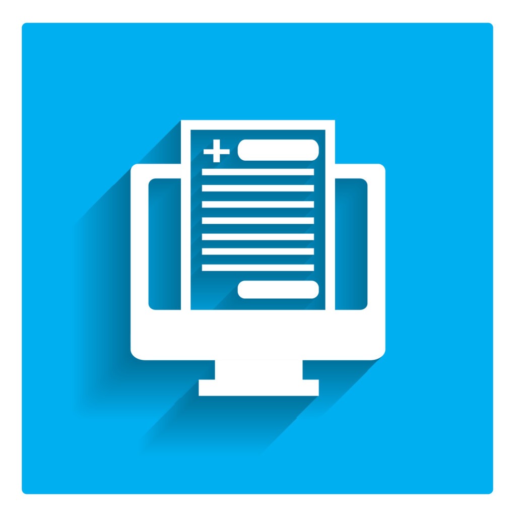 Digital document illustration