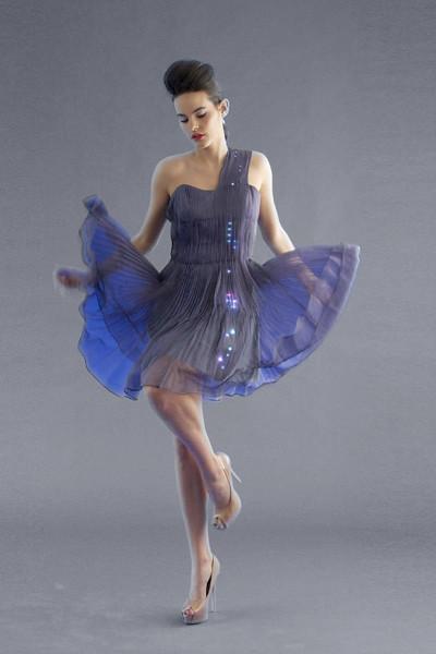 Cute circuit dress