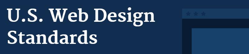 U.S. Web Design Standards