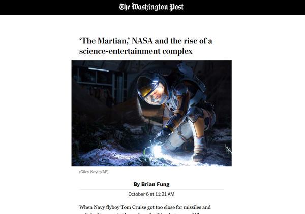AMP page on Washington Post