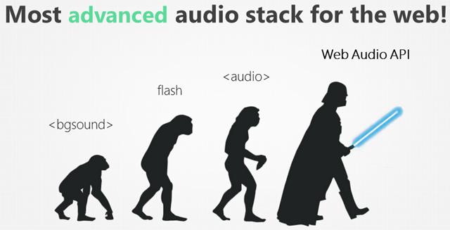 Web Audio Stack