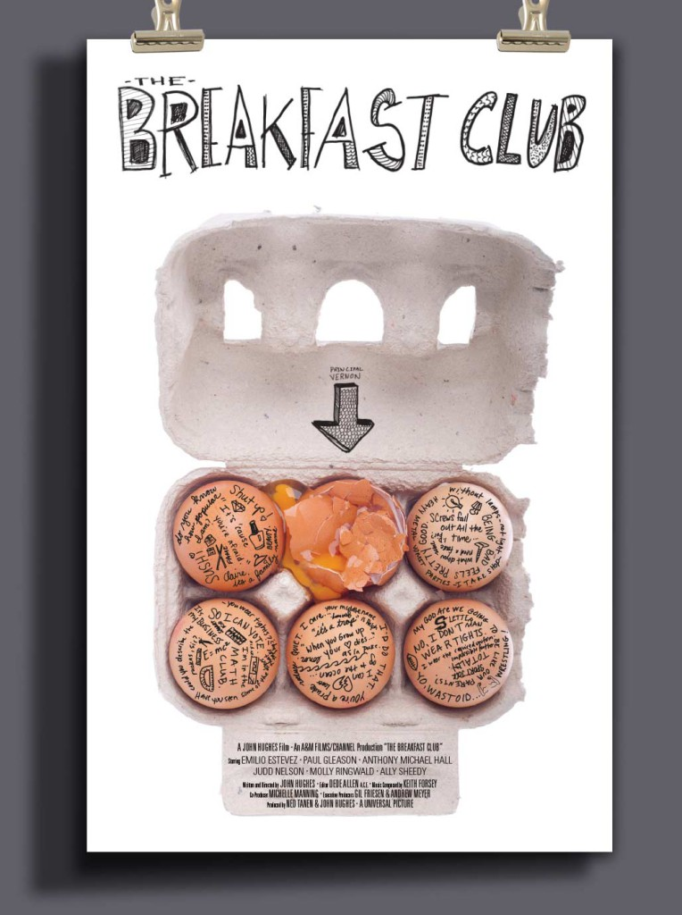 The Breakfast Club by LQDesignLLC