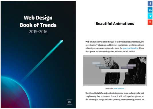 Web Design Trends 2015