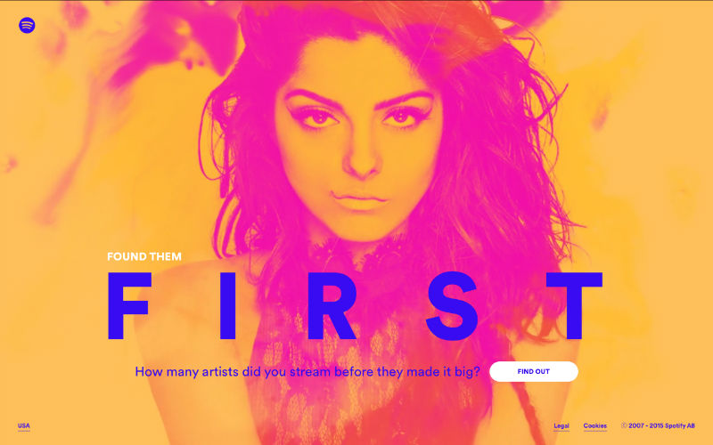 Spotify: Found them First