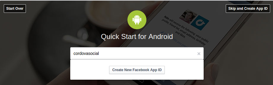 new facebook ID