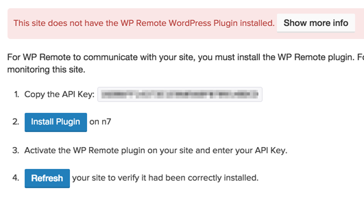 WP Remote Plugin