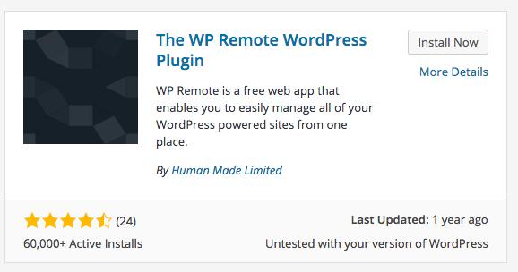 WP Remote Plugin Install