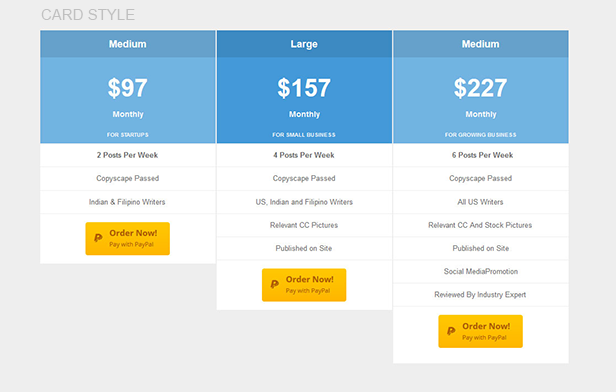 Plugmatter Pro Pricing Table Plugin