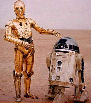 C3 PO and R2-D2