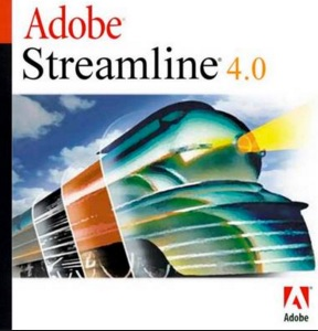 Adobe Streamline box