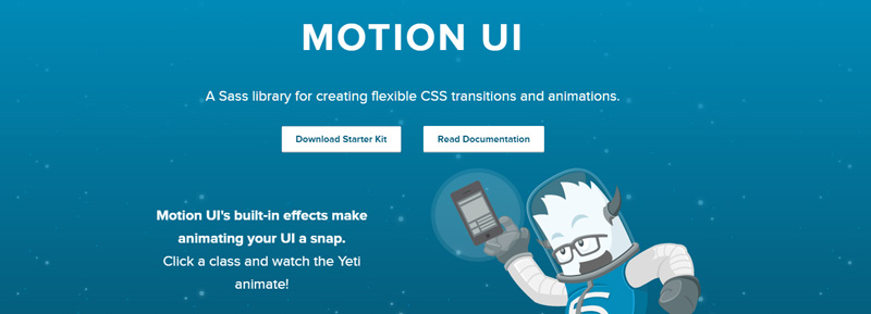 Motion UI in Foundation 6
