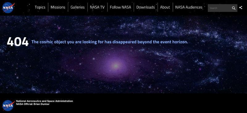 Website: NASA
