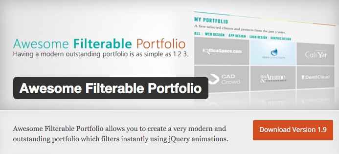 Awesome Filterable Portfolio by BriniA