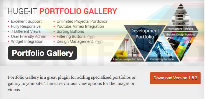 Galerie de portfolio par Huge IT