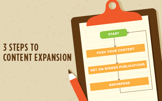 3 Steps to Content Expansion