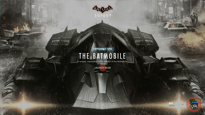 Batman Game Website