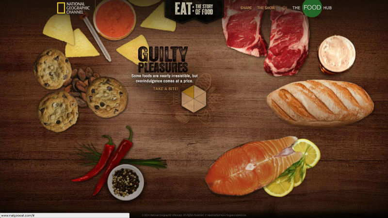 National Geographic's EAT: The Story of Food loaded