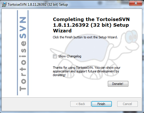 tortoise svn step 6