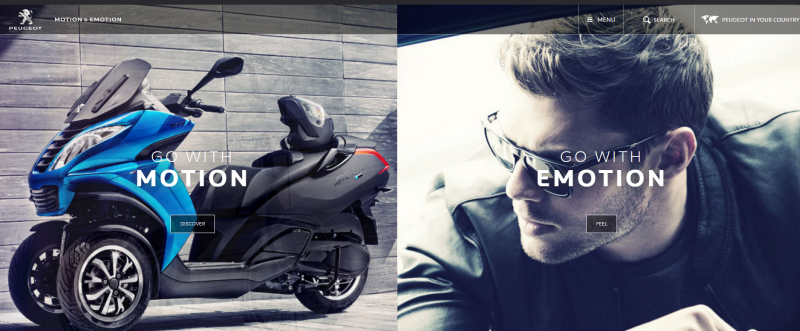 Peugeot - Go with motion/emotion