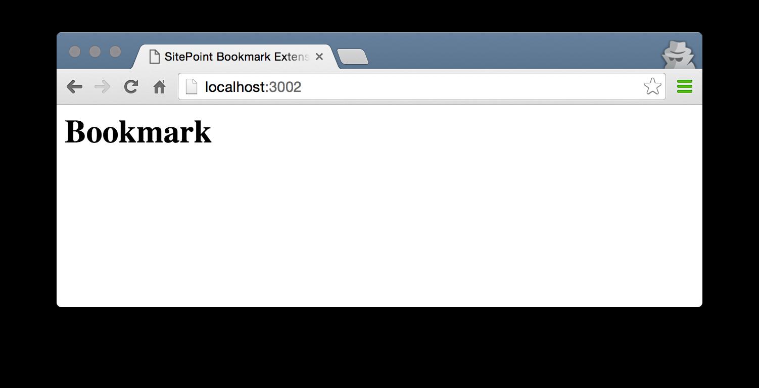"Screenshot of the ""Bookmark"" headline."