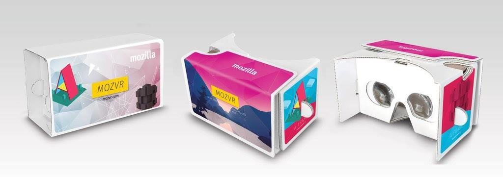 WebVR Cardboard Headsets