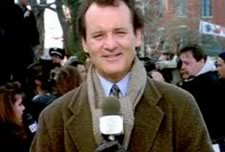 Phil Connors (Bill Murray) in Groundhog Day (1991)