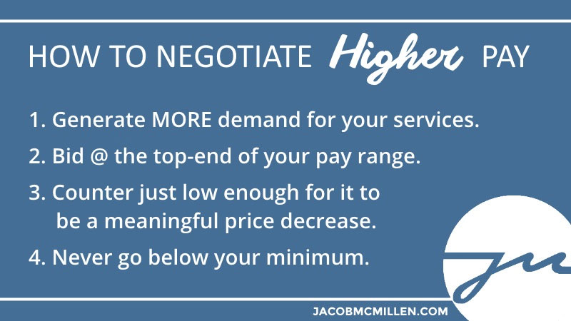 How to Negotiate Higher Pay