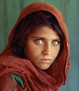 The haunting National Geographic 'Afghan Girl'.