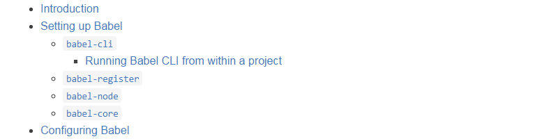 Babel User Handbook