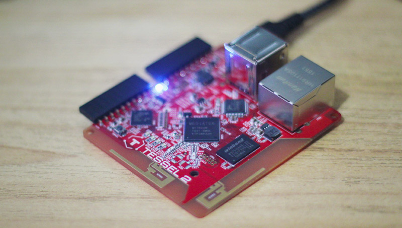 The Tessel 2 Microcontroller