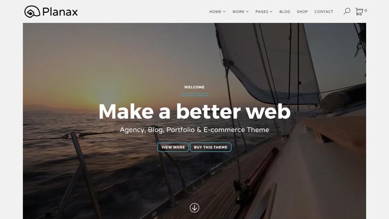 Planax Responsive WordPress Theme