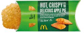 McDonald's hot apple pie