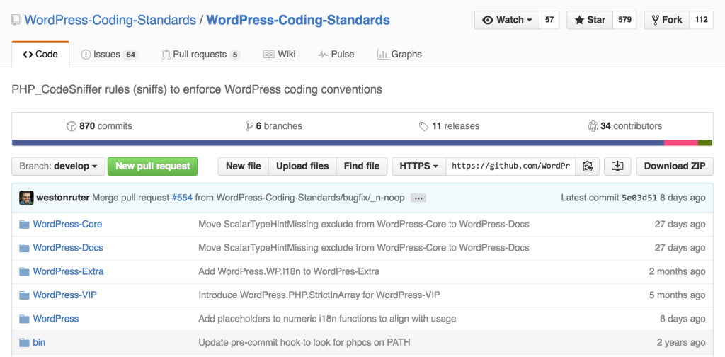 WordPress Coding Standards