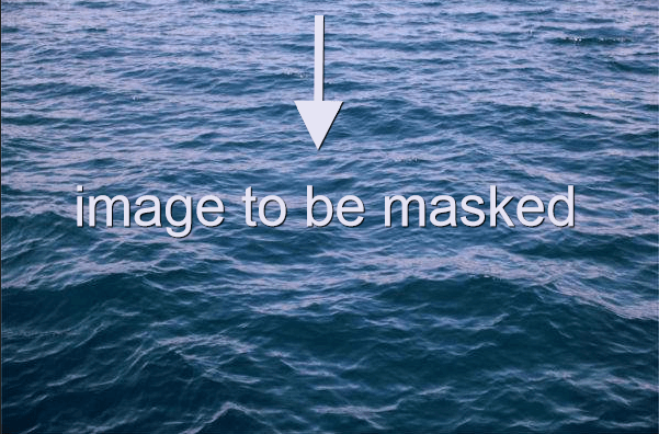 Image to be masked.