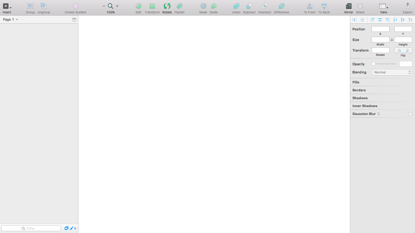 Sketch UI with all tabs visible