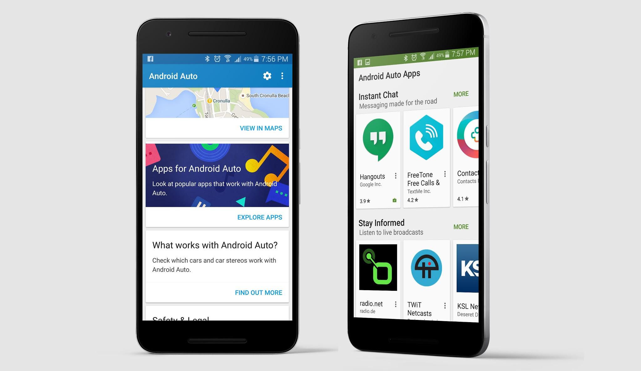 Android Auto Companion App