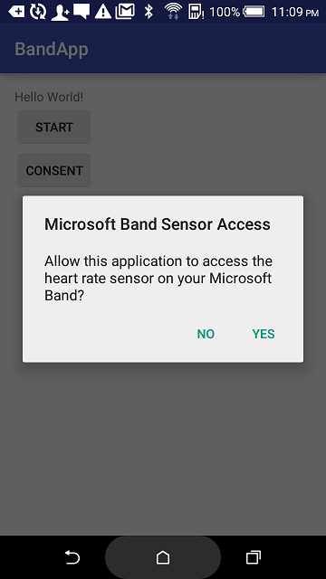 Consent on Android