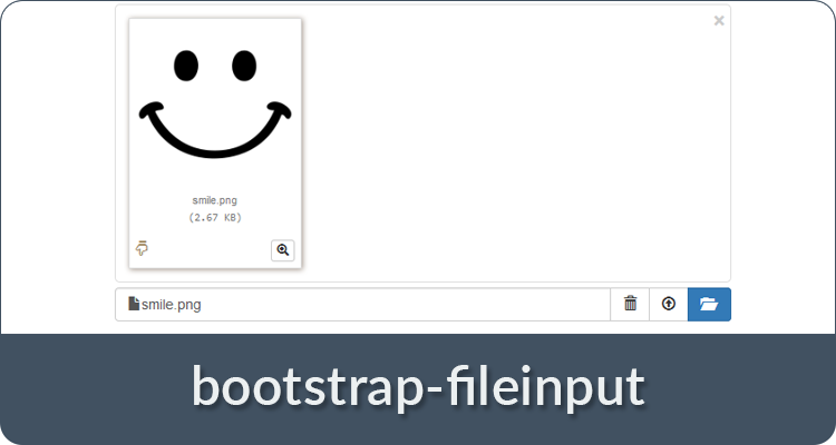 bootstrap-fileinput