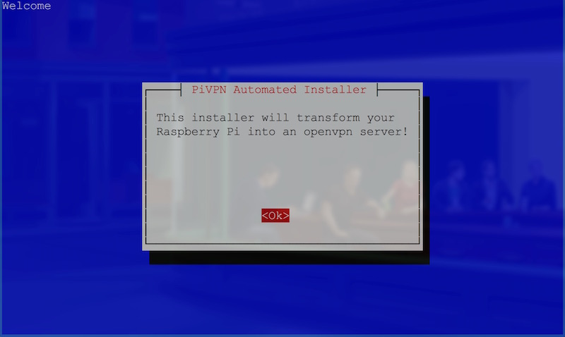 Initial automated installer prompt