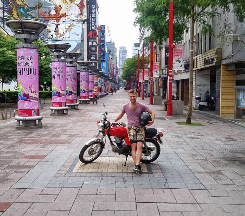 Jacob Laukaitis in Asia