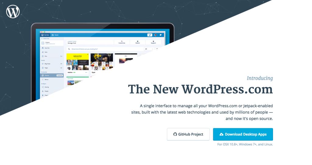Calypso WordPress Desktop App