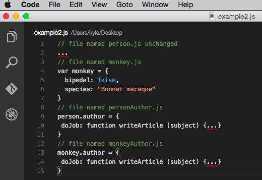 Example code 2