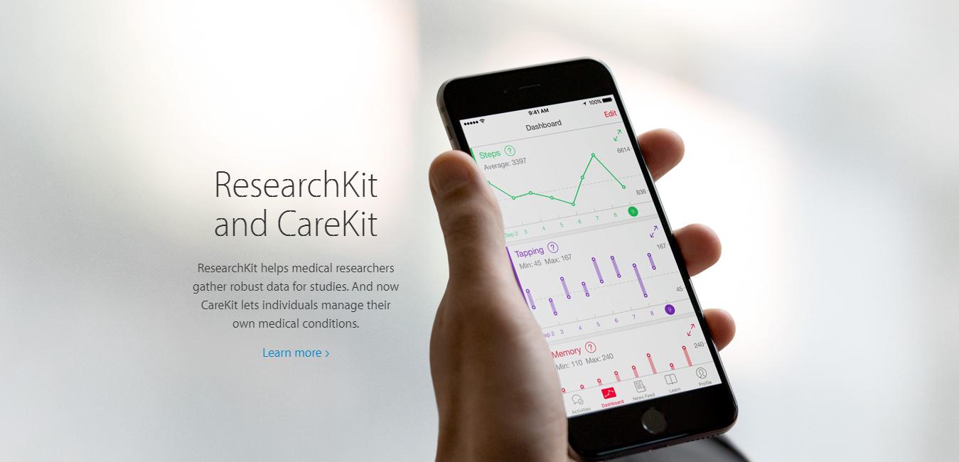 ResearchKit and CareKit