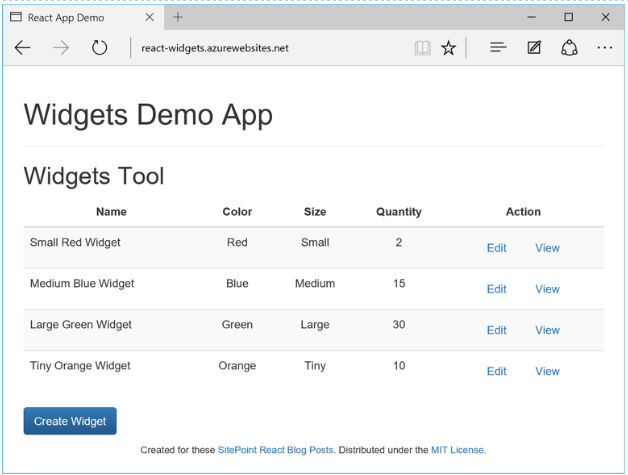React Demo App