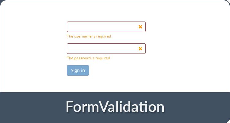 FormValidation