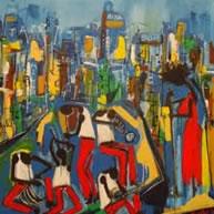 Painting: Easton Davy—Jazz Museum Rotterdam