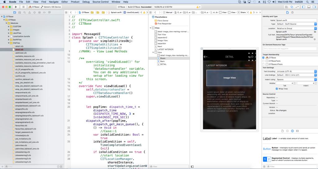 Code example - iOS XCode