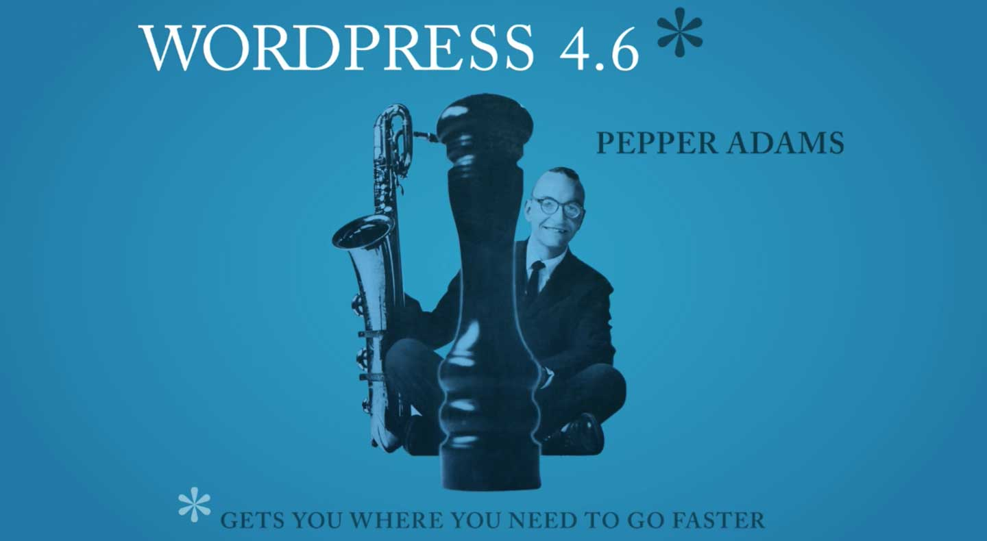 What's New in WordPress 4.6 Pepper